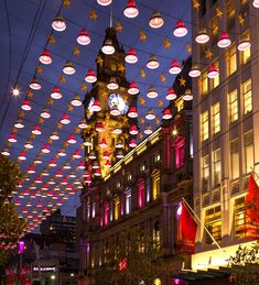 Bourke Street Mall Catenary Lighting