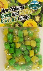 New Zealand Alpine Gourmet Green and Golden Kiwifruit Candy