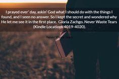 I prayed ever day askin God what I should do... Crop Book Teaser 3232 - AllAuthor