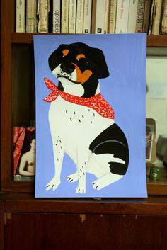Piuch, otro perrro que me cae bien. Josefina Schargorodsky.2013. josefinen.tumblr.com