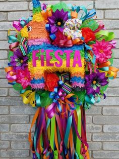 Your place to buy and sell all things handmade Mexican Birthday Parties, Mexican Fiesta Party, Luau, Balloon Wreath, Mexican Party Decorations, Mexican Christmas, Wire Wreath Frame, Christmas Store, Wreath Crafts