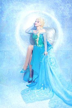 Queen Elsa 5 by Usagi-Tsukino-krv.deviantart.com on @deviantART