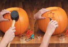 Cómo vaciar y decorar una calabaza de Halloween - Especial Halloween 2013 - Especiales - Charhadas.com