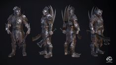 ArtStation - Warrior of Gundabad, Artem Dunaevskiy Orc Armor, Fantasy Images, Tolkien, Goblin, Lotr, My Images, Lion Sculpture, Statue, Studio