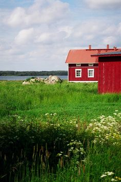 Traditional farmhouse, Oravais, Finland