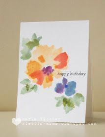 Card making ideas and tips for handmade greeting cards - birthday, thank you, love, baby, sympathy and all occasion.