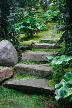 40 Cool Garden Stair Ideas For Inspiration - Bored Art