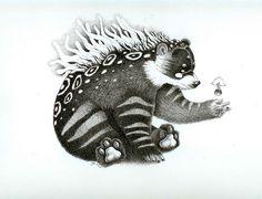 Bear Spirit by Yoda Navarrete  http://ladyorlandos.blogspot.co.uk/