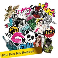 Promo Offer Fashion cool pcs PVC stickers for Travel Suitcase Wall Pencil Box Bike Phone Sliding Plate of mixed graffiti Styling Cheap Stickers, Cute Stickers, Laptop Stickers, Bumper Stickers, Phone Card, Graffiti Styles, Pencil Boxes, Vinyl Signs, Classic Toys