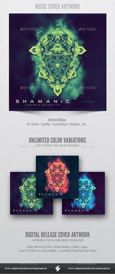 Shamanic - #Music Album #Cover Artwork Template - Miscellaneous #Social Media