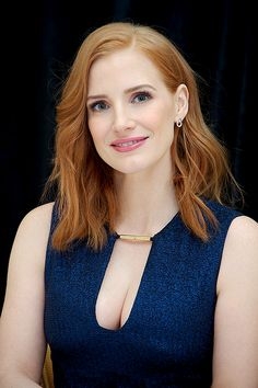 """Jessica Chastain attends The Martian press conference (August 1st, 2015) """