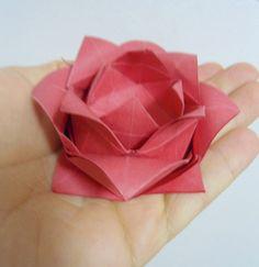 Beautiful origami flower card best photos for world pinterest origami origami modular adobracia dobrar papel papel dobrado kusudamas arte mightylinksfo