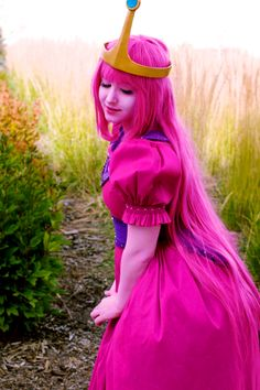 cifera:  every day is a struggle not to get really intense about princess bubblegum 24/7 ( cosplayer | photographer )
