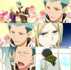This episode had me dying, especially Obi getting such a kick out of it and then mocking Mitsuhide later