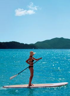Strengthen your core on our stand-up paddle boarding (SUP) and soul yoga retreat in Ibiza