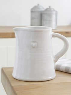 I do love a white jug
