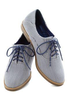 New to New England Flat - Blue, White, Yellow, Stripes, Trim, Menswear Inspired, Nautical