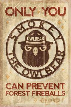 Smokey the Owlbear