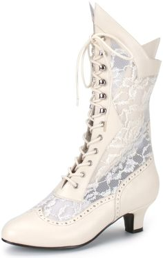Victorian Women's Boots, Shoes and Steampunk Boots