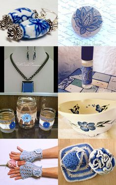 Monday's Blues by Susan Kaur on Etsy--Pinned with TreasuryPin.com
