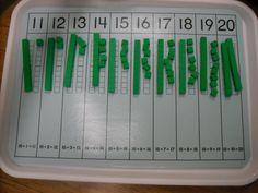 Mrs. Swanson's Kindergarten Blog - PM: Tricky Teen Numbers