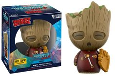 Guardians of the Galaxy Vol. 2: Groot in jumpsuit with patch Dorbz figure by Funko, Hot Topic exclusive