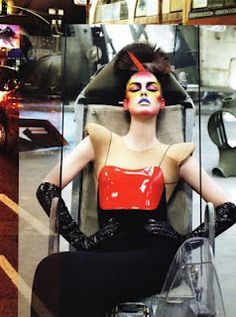 Sensory Overload by Steven Meisel #disco meets #fashion #hiphop #style #pop #beauty #vogue