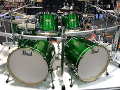 MCX Masters in NEW Shamrock Green with the ICON Rack