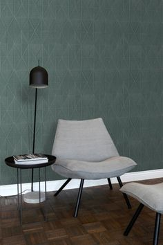 My Room, Accent Chairs, New Homes, Living Room, Origami, Wallpaper, Interior, Table, House