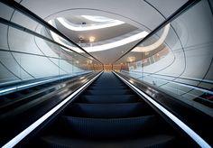Escalator perspective