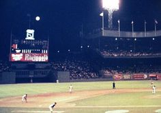 Polo Grounds (1962). Mets game.