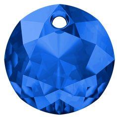 SWAROVSKI® 6430 Classic Cut Pendant (206 Sapphire) Innovation, Swarovski, Sapphire, Spring Summer, Pendant, Classic, Outdoor Decor, News, Derby