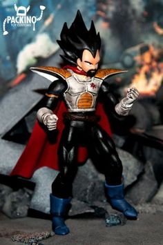 King Vegeta - Dragonball z (Dragonball Z) Custom Action Figure