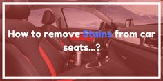 How to Remove Stains from Leather Car Seats: 3 Tips  http://carleatherpro.com/how-to-remove-stains-from-leather-car-seats/  #HowtoRemoveStainsfromLeatherCarSeats