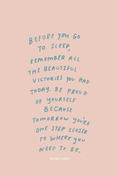 Quote, quotes, words, words to live by, motivation Motivacional Quotes, Cute Quotes, Words Quotes, Sayings, Reminder Quotes, Daily Reminder, Cute Sleep Quotes, Qoutes, Self Reminder