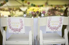 Décoration de chaises   Déco Mariage   Queen For A Day - Blog mariage