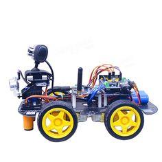 Xiao R STM32 duino Smart Robot Wifi Video Control Car Kit With PTZ Sale - Banggood.com Rc Robot, Smart Robot, Kit Cars, Wifi, Hobbies, Toys, Activity Toys, Clearance Toys, Gaming