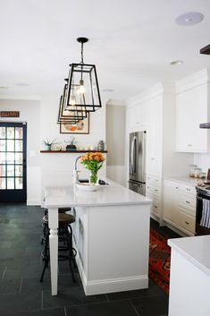 Fells Point, Baltimore, historic rowhouse kitchen remodel with IKEA cabinets.