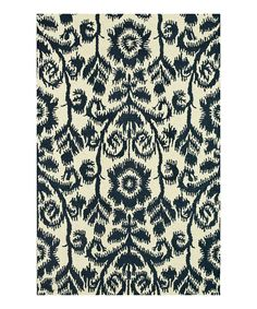 Love this Navy Taylor Wool Rug by  on #zulily! #zulilyfinds