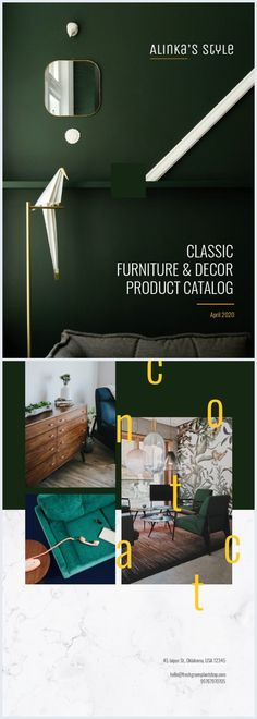 If you're looking for new ideas to promote your products, then you've landed in the right place! Take this classic product catalog cover template & design and make it yours. It's really easy to do so with our drag & drop editor and user friendly interface. Catalog Cover, Product Catalog, Cover Template, Classic Furniture, Furniture Decor, Editor, Drop, Templates, Make It Yourself