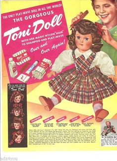 1950s Play Wave Toni Doll