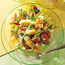 Weight Watchers - Salade met krab en ei - 4pt