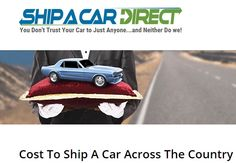 Cost To Ship Car Across Country >> 11 Best Car Shipping In Canada Images In 2015 Transportation