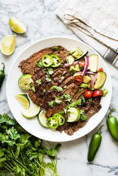 Oct 2019 - A delicious Carne Asada recipe made from marinated flank or skirt steak and cooked on the grill. Juicy, tender and a great addition to any Mexican meal! Grilling Recipes, Beef Recipes, Cooking Recipes, Easy Recipes, Skirt Steak Recipes, Mexican Food Recipes, Ethnic Recipes, Cooking On The Grill, Entrees