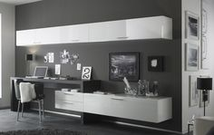 Work space & home office! Club möbelgrupp A from Lorenzo Campanelli.