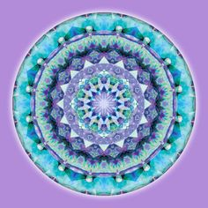 """Mandalas of Deep Trust"" #1 - from New World Creations"