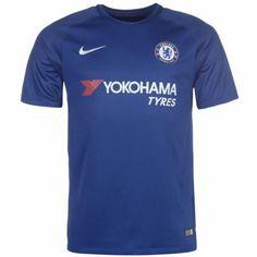 Chelsea Hjemmebanetrøje 17-18 Kort ærmer #Billige Fodboldtrøjer