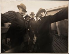 Group selfie taken in 1920