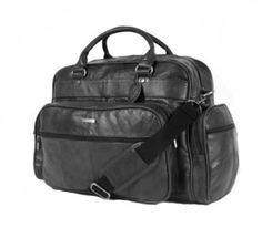 Luxury Leather Weekend Travel Holdall