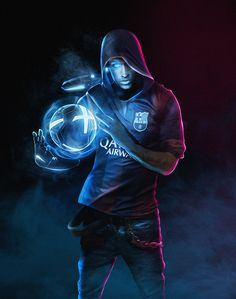 "BossLogic Twitterissä: ""#throwback to a series I really enjoyed, I love using these colours - @neymarjr #Cyberfootball might revisit again later down the track. https://t.co/pyFpSkdiCZ"""